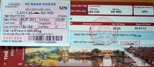How to book train tickets to Sapa by yourself